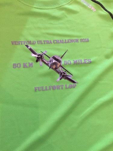 T-skjorte til alle som fullførte VUC